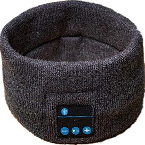 Bluetooth Headband Auriculares Estéreo Inalámbricos Bluetooth Auriculares para Correr Auriculares para Dormir Deportes Música para Dormir Diadema Joy -Negro