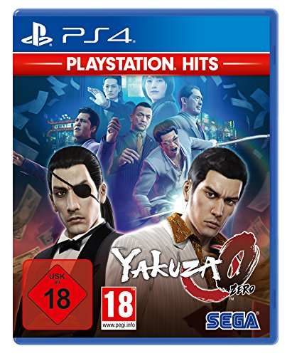 Yakuza Zero Playstation Hits (PS4)