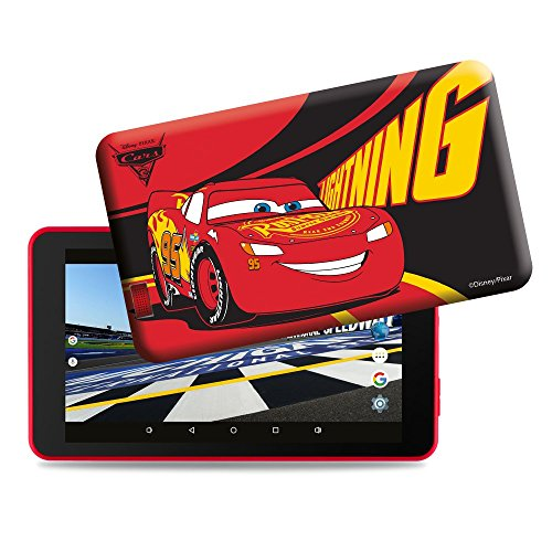 Estar Cars Tablet per Bambini, Rosso