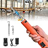 Rebar Tying Tool Brushless Automatic, Crtkoiwa Reliable Rebar Tie Wire Twister Tool with Battery Electronic, Lower price and Increase Work Efficient,Personal Assistant of Construction Engineer.