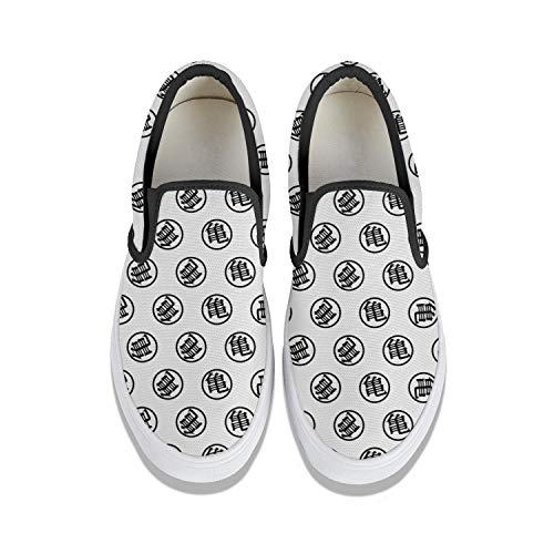 Mens Guys Best Loafers Black Canvas Traveling Bowling Shoes