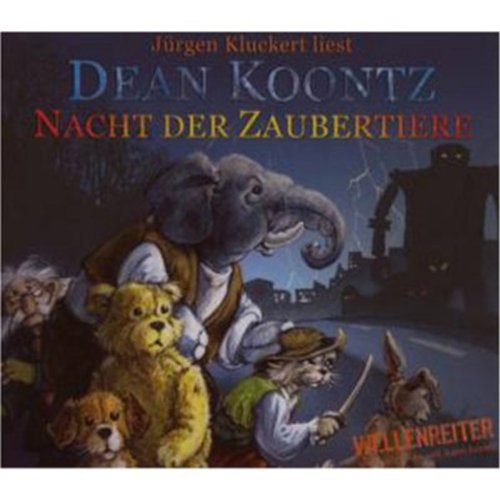 Nacht der Zaubertiere                   Autor:                                                                                                                                 Dean Koontz                               Sprecher:                                                                                                                                 Jürgen Kluckert                      Spieldauer: 3 Std. und 55 Min.     36 Bewertungen     Gesamt 4,5