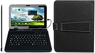 "Kocaso 9"" Carrying Case Tablet Stand With Keyboard & Stylus For 9"" Tablets"