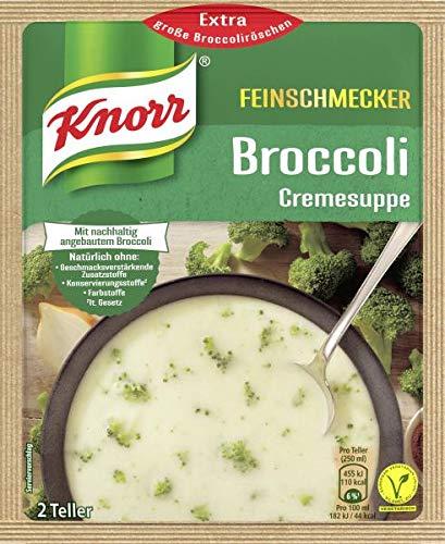 Knorr Feinschmecker Broccoli Suppe, 2 Teller