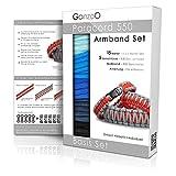 Paracord 550 Armband Set selbst knüpfen, Knüpf-Anleitung, DIY Bracelet, Geschenk