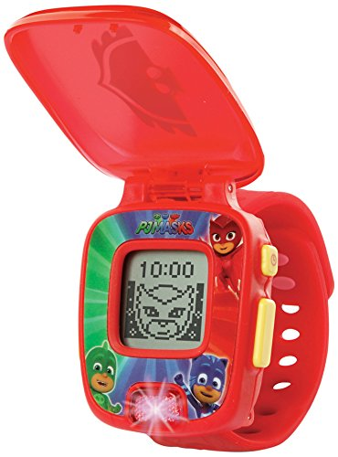VTech- PJ Masks Gatuno, Reloj Digital Educativo Que estimula el Aprendizaje e incorpora minijuegos y Actividades, Color Azul (3480-175822)