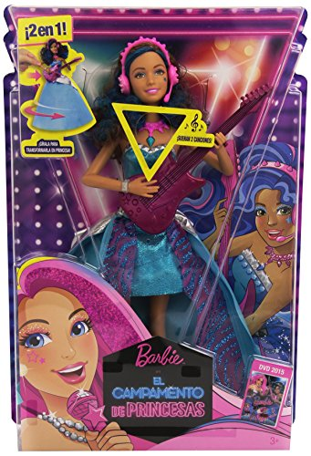 Barbie Princess Courtney im Camp
