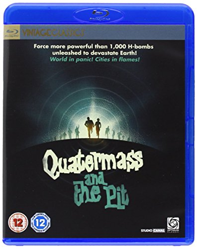 Quatermass and the Pit ( Five Million Years to Earth ) ( The Mind Benders (Quarter mass & the Pit) ) (Blu-Ray & DVD Combo) [ NON-USA FORMAT, Blu-Ray, Reg.B Import - United Kingdom ]
