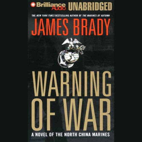 Warning of War audiobook cover art
