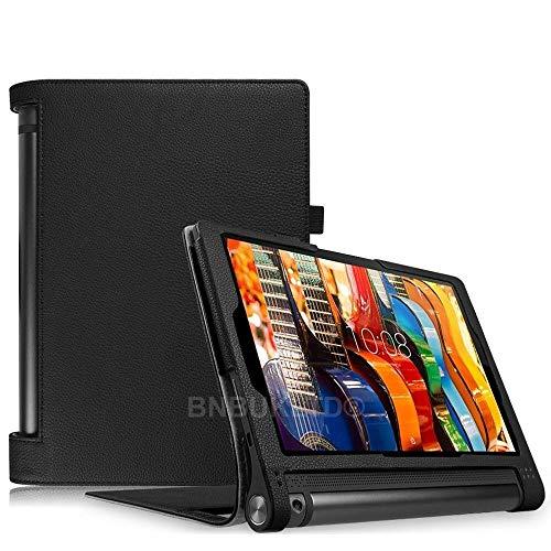 BNBUKLTD Funda de piel compatible con Lenovo Yoga Tab 3 10.1' Tablet YT3-X50F