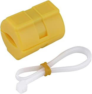 Universal ABS Magnetic Gas Fuel Saver Special for Car Vehicle Reduction Emission Case XP-2 Yellow
