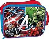 Kids Euroswan Bolsa de Merienda Termica Modelo Avengers, Compuesto, Multicolor, 25x8x20 cm
