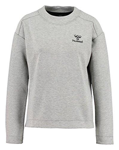 Hummel Damen Sweatshirt Classic BEE WO Zion, Grey Melange, L