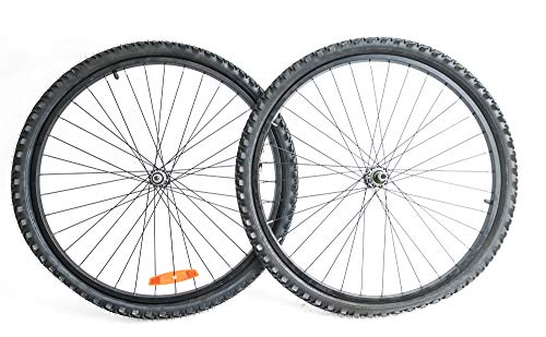 "XRP 26"" Mountain/Hybrid Bike Wheelset + Tires Freewheel Aluminum Rim New"