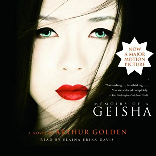 Memoirs of a Geisha audiobook cover art