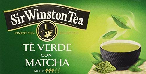 Sir Winston Tea Tè Verde Matcha - 20 filtri - (confezione da 3)