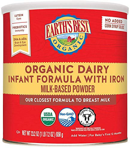 Earth's Best Organic Dairy Infant Powder...