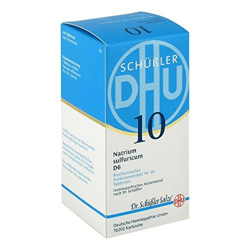 DHU Schüßler-Salz Nr. 10 Natrium sulfuricum D6 Tabletten, 420 St. Tabletten