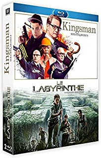 Kingsman : Services Secrets + Le Labyrinthe [Blu-Ray] (B00YTAIU90) | Amazon price tracker / tracking, Amazon price history charts, Amazon price watches, Amazon price drop alerts