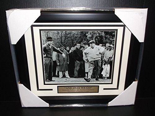 Jackie Gleason PGA Golf Framed 8x10 Photograph Away we go with Arnold Palmer