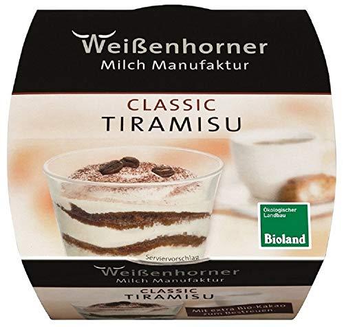 Weißenhorner Milch Manufak Bio WH MM Bioland Tiramisu classic (6 x 100 gr)