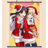 アニメの壁のスクロールポスター漫画のキャラクターのポスタープリントぶら下げ家の装飾ギフトFate Grand Order 50x75cm