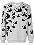 [アレキサンダー・マックイーン] メンズスワロースウォームフロックスウェットシャツ McQ Alexander McQueen Men`s Sweatshirt(並行輸入品)