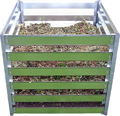 FARMERS FUN Metall Komposter 700 L, feuerverzinkt, beliebig erweiterbar