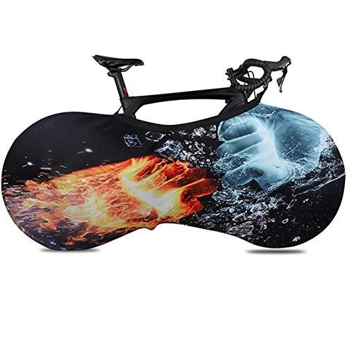 Cubierta de Rueda de Bicicleta Protector de Bicicleta Cubierta de Bicicleta de Carretera MTB Ruedas Antipolvo Cubierta de Marco Bolsa de Almacenamiento a Prueba de Arañazos 24-700C o 29 Pulgadas