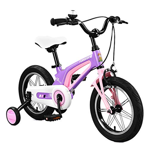 Read About Sports Outdoors Bicycles Outdoor Recreational Bicycles Children's Bicycles Children's Bicycles with Stands Magnesium Alloy Bicycles Boys and Girls 14 16 Inch Bicycles with Training Wheels Kids' Bikes