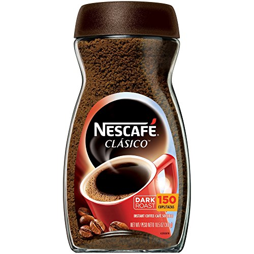 NESCAFE CLASICO Instant Coffee 105 oz Jar Pack of 5