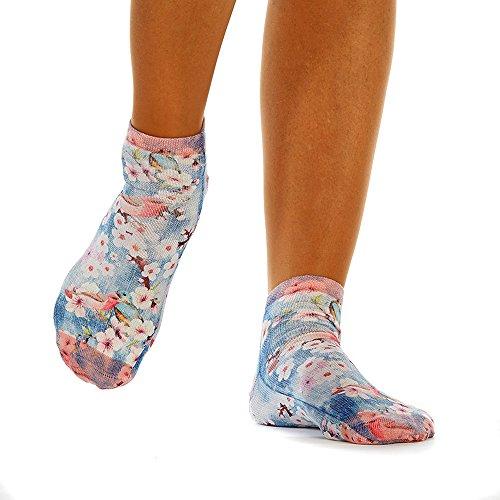 Wigglesteps Damen Sneaker FLOWER BIRDS