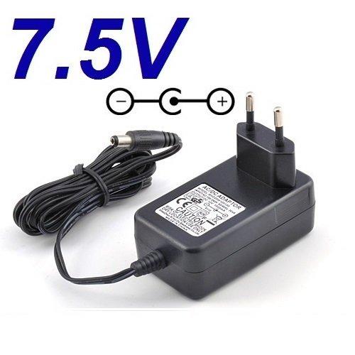 Ladegerät Aktuelle 7.5V Ersatz für Fahrrad Elliptische BH Fitness Atlantic Netzadapter Netzteil Replacement