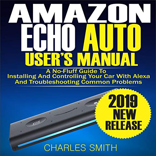 Amazon Echo Auto User's Manual Titelbild