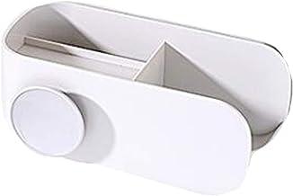 LJBH Hair dryer rack, free punching bathroom bathroom shelf, wall hanging, hair dryer rack, toilet storage duct shelf, gra...