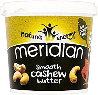 Meridian Smooth Cashew Butter - 1kg (2.2lbs)