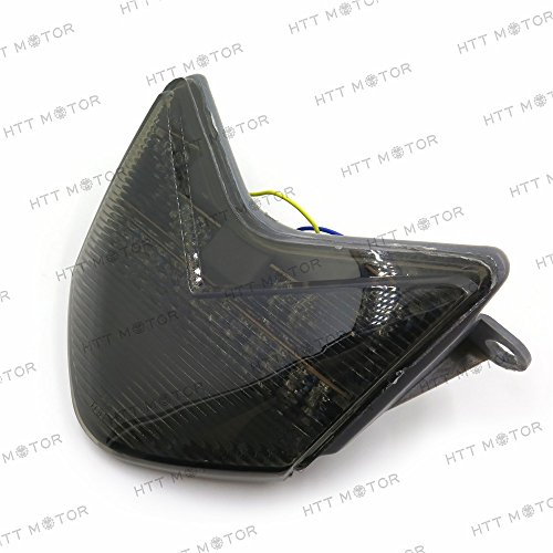 Price comparison product image HTTMT MT038- SMOKE Tail Light Compatible with 2005 2006 Kawasaki Ninja ZX-6R / ZX636 / ZX-6RR / ZX600 / Z750S- 2006-2007 ZX-10R / ZX1000