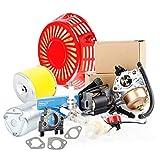 Part 16100-ZE3-V01 Carburetor with 17210-ZE3-505 Air Filter for GX390 GX 390 GX340 GX340U1 GX340R1 GX340K1 11HP Engine WT40XK1 WT40XK2 WT40XK3
