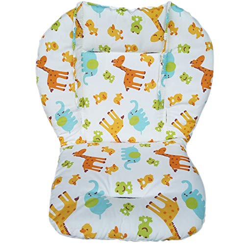 Forart Baby Pushchair Seat Liners High Chair Mat Car Seat Pad Cover Animal Breathable Waterproof Mat