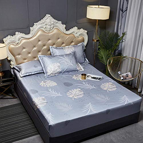 JRDTYS Super Soft Warm and Cosy Fitted Bed SheetThe bed cover is machine washable and non-slip-18_200cmx220cm+35cm