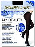 GOLDEN LADY My Beauty 50 Collant, 50 DEN, Nero (Nero 099A), X-Large (Taglia produttore:5 – XL) Donna