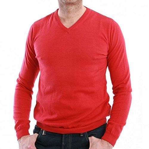 LTB Soleil Balloon Pull en jean pour homme Rouge - Rouge - XL