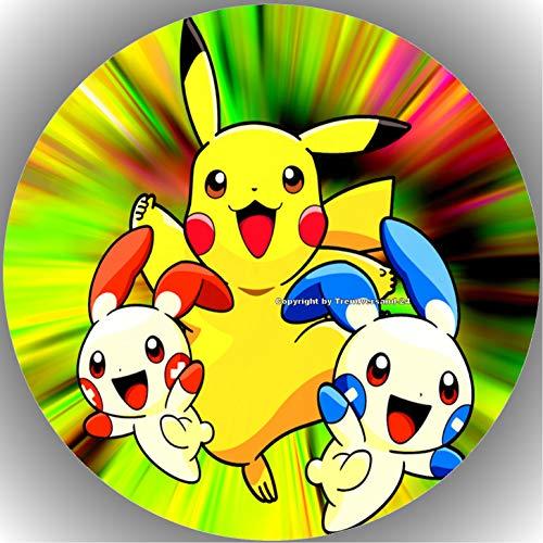 Fondant Tortenaufleger Tortenbild Geburtstag Pokemon T14