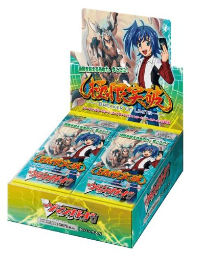 Cardfight!! Vanguard Booster Pack Vol. 6 VG-BT06 Break the Limit (30 packs)
