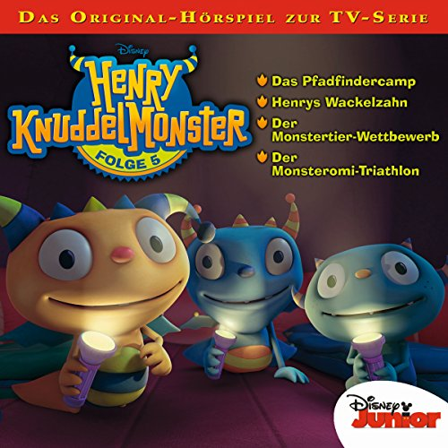 Henry Knuddelmonster 5 Titelbild