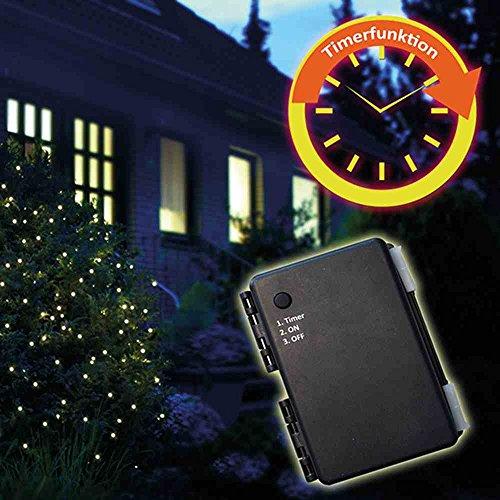 LED-Batt-Netz au. 1,5x1,5 100er, mit Timer für 3AA (1 Stück)