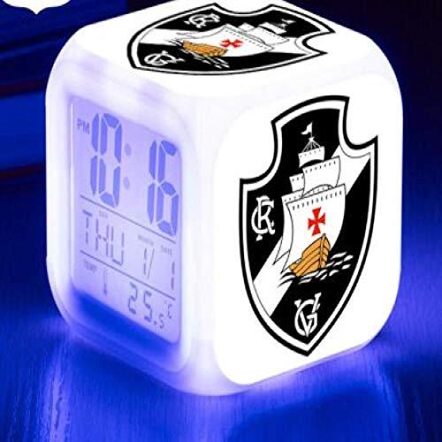 ShiyueNB Voetbal, Braziliaans voetbal, Ssrie, One LED, wekker fluminese Svela Enfant Color Flash Watch