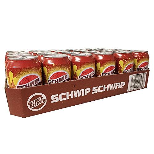Schwip Schwap Cola & Orange 24 x 0,33l Dose DE (Cola- Orange- Mischgetränk)