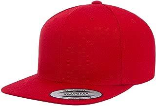 Yupoong Flexfit Blank Snapback Cap RED