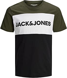 Jack & Jones Jjelogo Blocking tee SS Noos Camiseta para Hombre